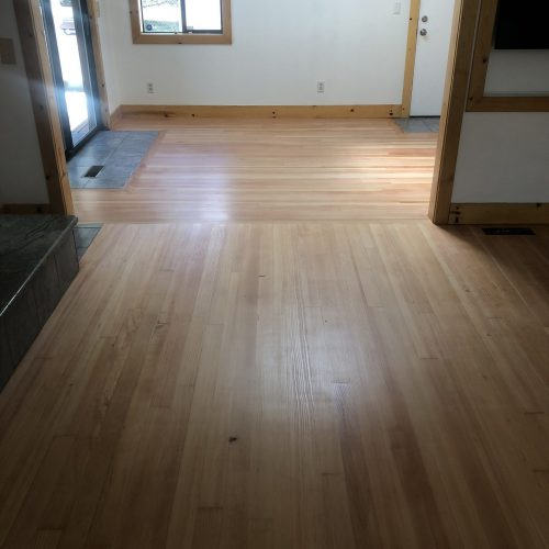 Vertical Grain Fir Floor